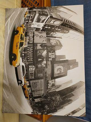 Cuadro Nueva York ByN