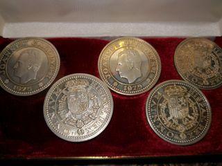 Medallones de plata serie limitada