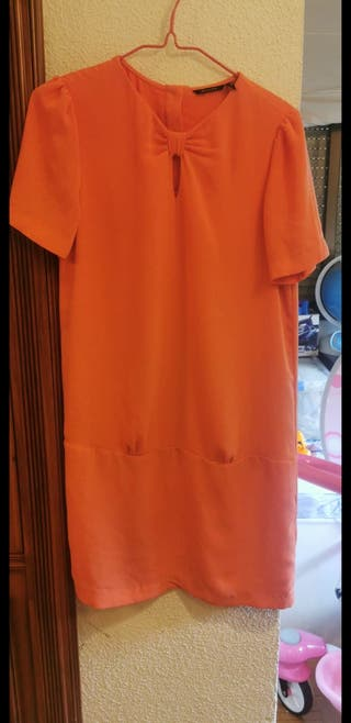 vestido máximo Dutti