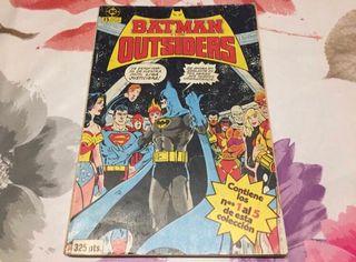 Batman y los Outsiders 1o tomo Dc Comics