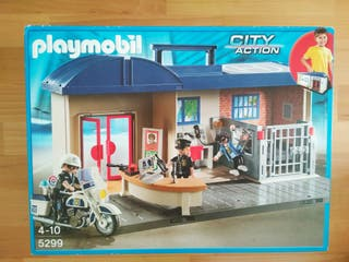 Playmobil comisaría policía 5299