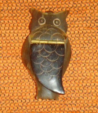 miniatura tallada de ASTA natural