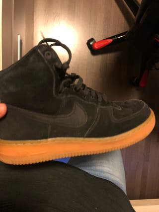 Air Force 1 Negras Altas 41