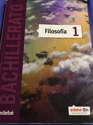 Libro 1° Bachillerato Filosofía edebé