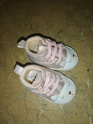 zapatos bebe niña 3 meses