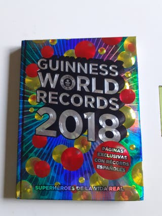 LIBRO GUINNESS WORLD RECORDS 2018