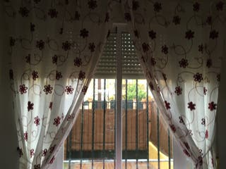 4 cortinas a juego