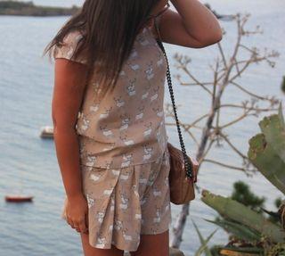 Short beige de Zara