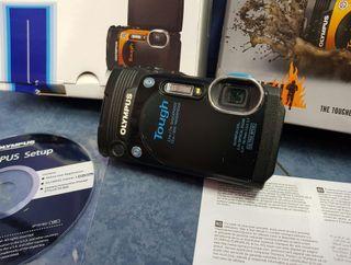 cámara olympus tg860 con dos baterias GPS Y WIFI c