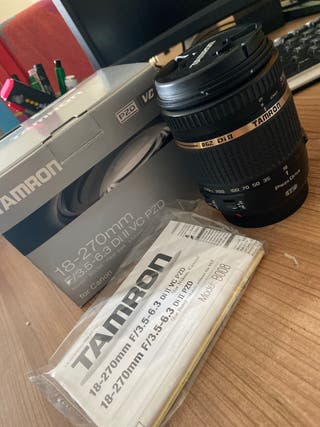 Tamron 18-270 mm for Canon