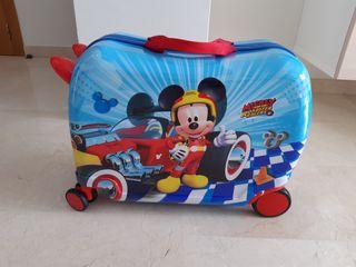 Maleta correpasillos Mickey superpilotos