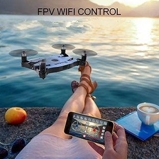 Drone Wifi con Camara HD Selfie / Modo estable / B