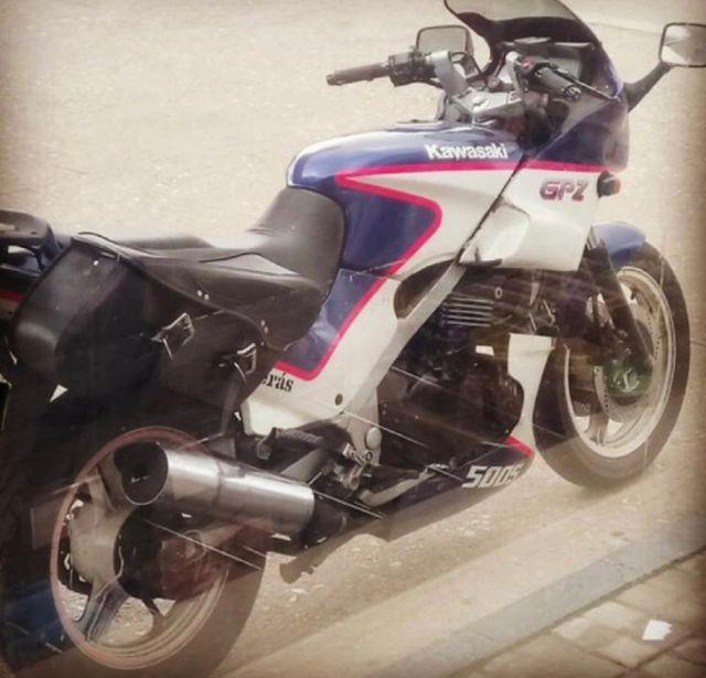 Alforjas Kawasaki GPZ 500S
