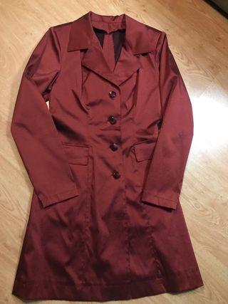 Traje chaqueta mujer fiesta burdeos talla 38