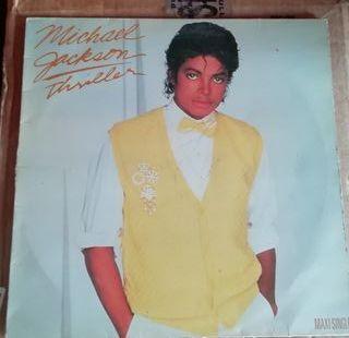 """Vinilo 12"""" Michael Jackson Thriller"""