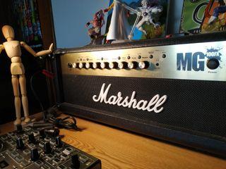 Amplificador Marshall MG 100FX Cabezal