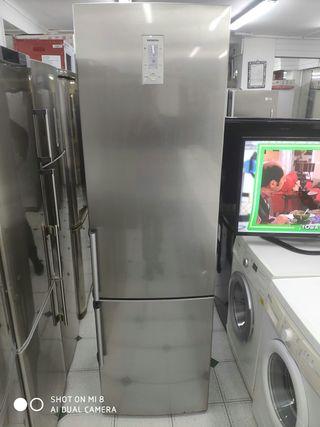 nevera siemens acero 2mx60cm con garantia+transpor