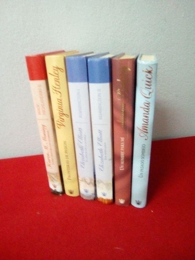 6 novelas romanticas 6€