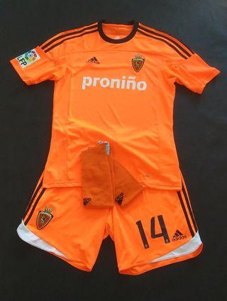 equipación real Zaragoza 2012 tercera camiseta