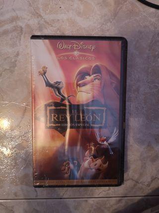 El rey león VHS Nueva precintada