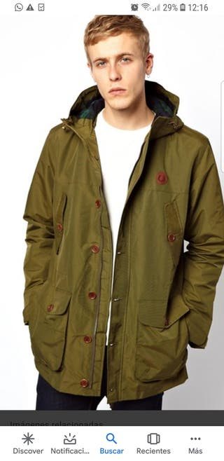 parka Fred Perry talla L/Xl