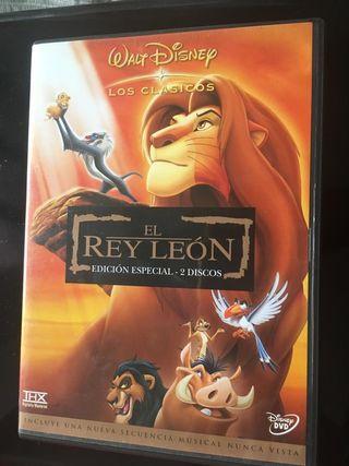 El Rey León EDICIÓN ESPECIAL DESCATALOGADA