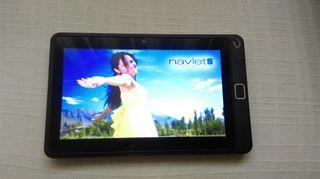 Tablet Gps Vexia + soporte + funda
