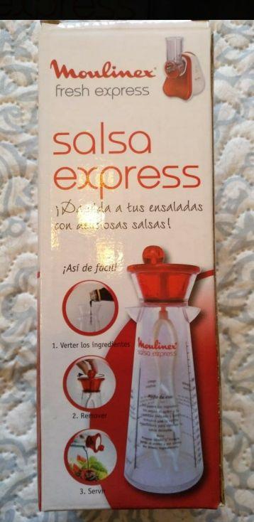 salsa exprés nuevo y precintado