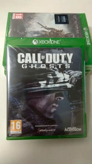 Call Of Duty Ghost XBox ONE PAL. NUEVO