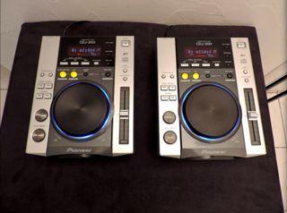 Reproductores de cd Pioneer cdj200