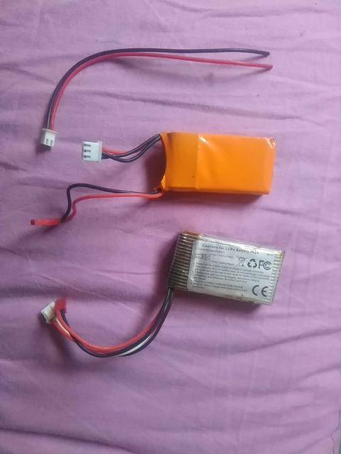 baterías para helicoptero o drones