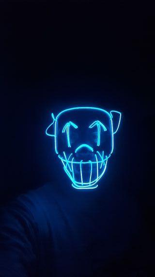 mascara la purga