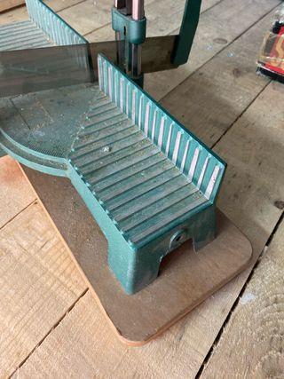 Cortadora ingletadora de madera aluminio