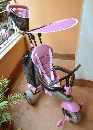 Triciclo evolutivo Shine Pink de Eurekakids