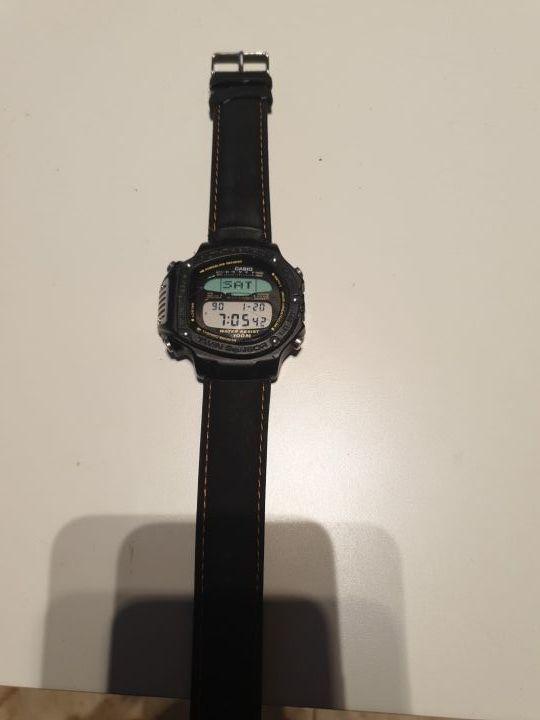 reloj casio alt-6000 altímetro vintage