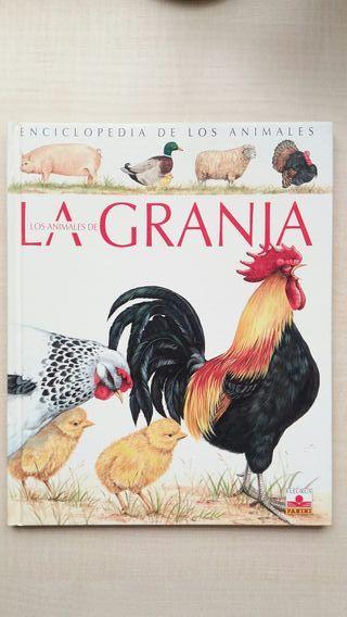 Libro Enciclopedia de los animales de La Granja.