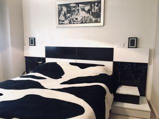 Cabecero y mesillas dormitorio