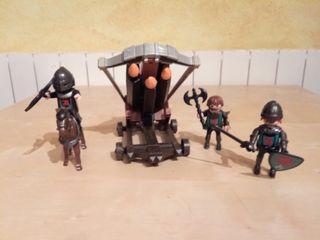 Playmobil - Ballesta caballeros halcón Ref. 4868