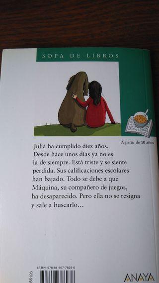 Libro de lectura Dos Lágrimas por Máquina.
