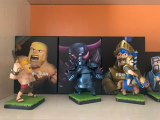 Figuras oficiales personajes Supercell