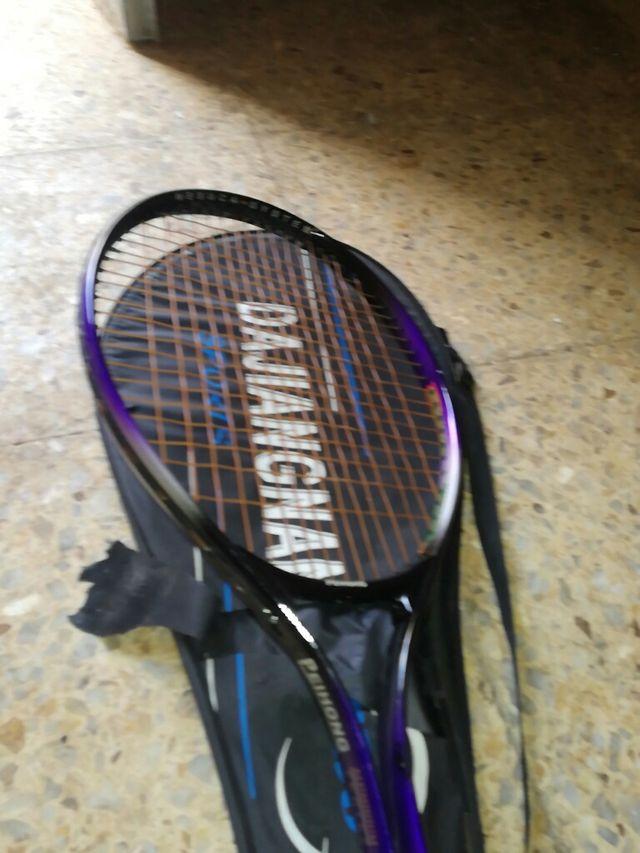 juego de palas de tenis