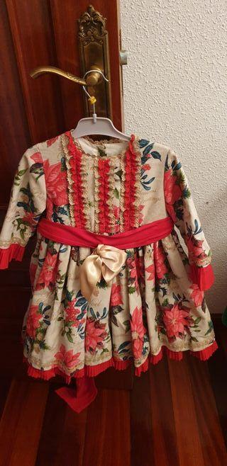 Vestido alta costura talla 5