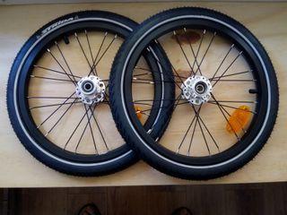 "Kit ruedas 16"" para bicicleta plegable Strida"