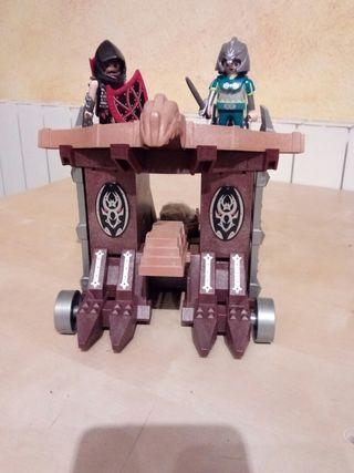 Playmobil - Catapulta gigante con celda Ref. 4837