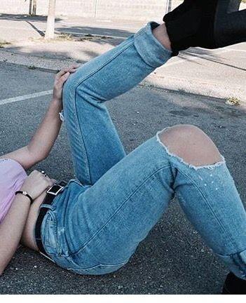 Pantalones rotos