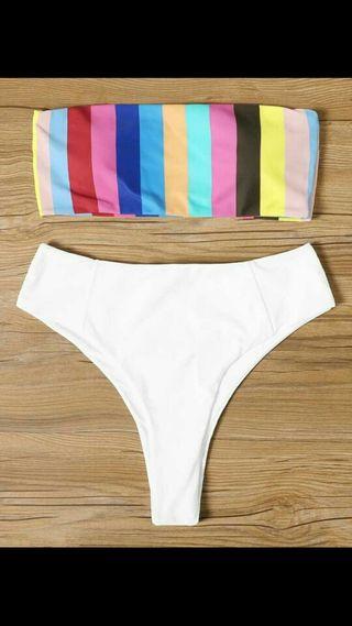 Bikini de rayas