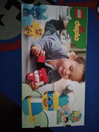 Juego ficha Lego bebes