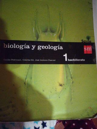 Libro de biología y geología 1ºbachiller(savia)