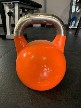 Kettlebell de Competición 28kg sin uso