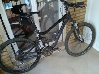 "bici MTB 26"" doble suspencion"